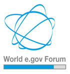 Logo world egov forum
