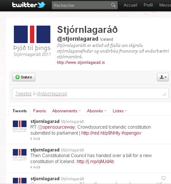 Twitter islande crowdsource constitution